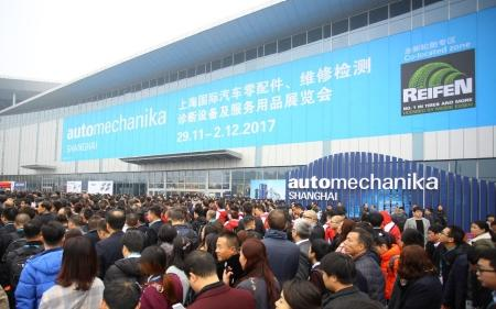 Техно Вектор на выставке Automechanika Shanghai 2017