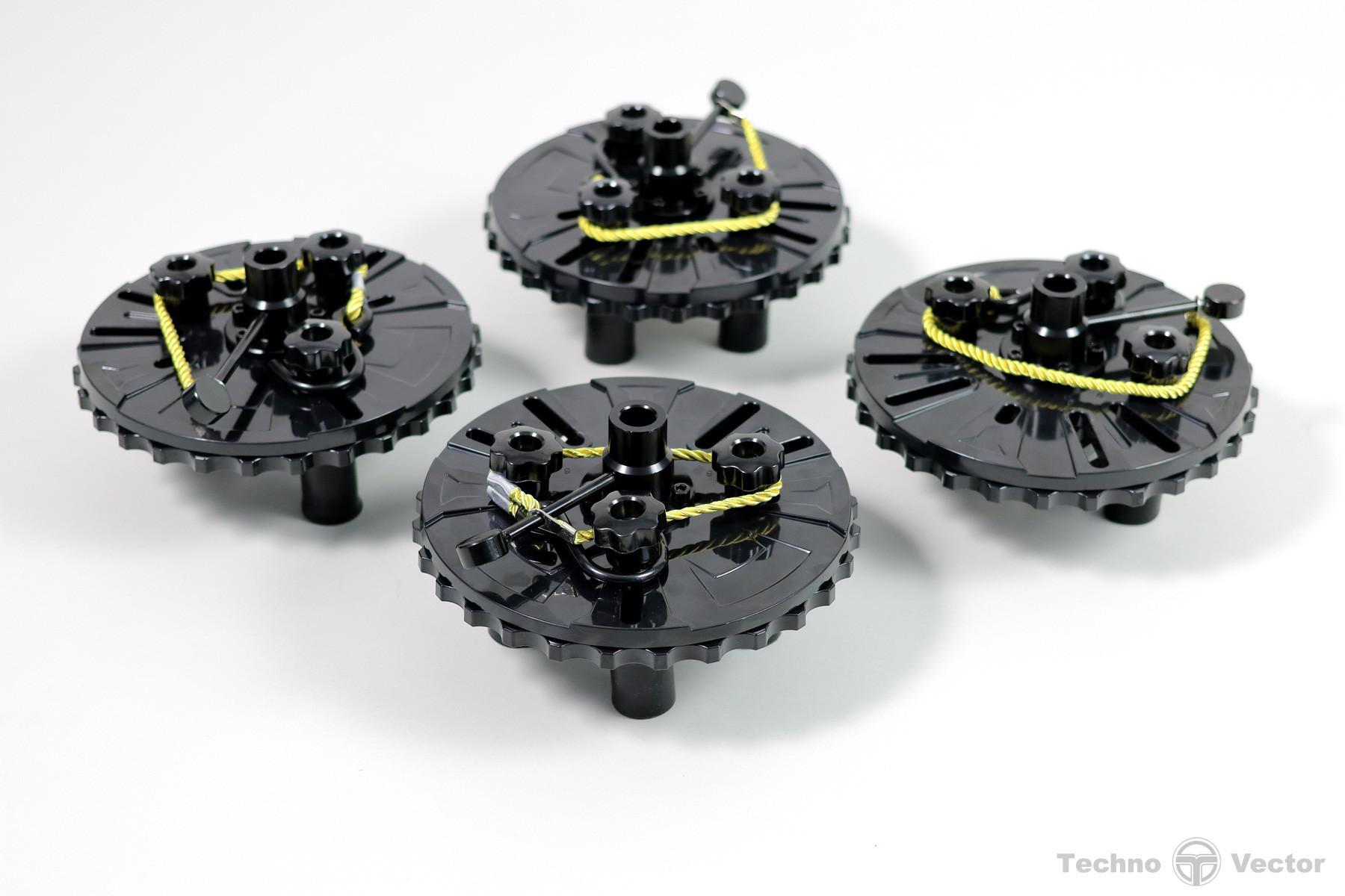 Магнитные колесные адаптеры